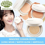 INNISFREE Cushion Series☆FREE NORMAL MAILING FOR LIMITED PERIOD☆ INNISFREE Cushion Series (Long Wear/Water Glow/Ampoule Intense/Cushion Primer)☆☆Best Selling Cushions in Korea and Singapore☆☆