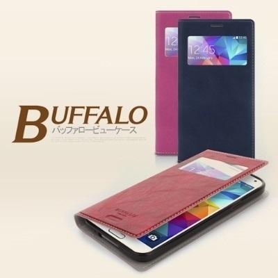 【送料無料安心国内発送】★ARIUM BUFFALO ビュー ケース iPhone6 6Plus Galaxy Note Edge Note4 ノート4 エッジ ノート3 ノート2 S5 S4 S3 LG G3 Beat G2 携帯 スマートフォン スマホ モバイル ケース カバー ダイアリー アイフォン6の画像