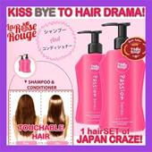 NO HAIR DRAMA! JAPAN La Rose Rouge -SO FAST RESULT!:PAKET SHAMPOO+CONDITIONER