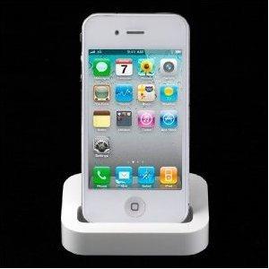 ★送料無料★国内発送★iPhone/iPod Dock式充電スタンド ドックスタンド クレードルの画像