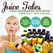 Limited Quantity Promotion! Juice Tales 1 day Fresh Cold Pressed Raw Organic Juice Detox Program (6 Bottles of 400ml freshly prepared cold pressed juice + 1 bottles of ionized water with slice of lime