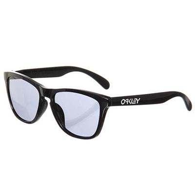 ◆即納◆オークリー(OAKLEY) FROGSKINS(フロッグスキン) Polished Black/Gray OO9245-01 【セール サングラス サーフ スケートボード スノーボード】の画像