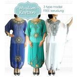 [RAMADHAN SALE] MUSLIM KAFTAN BUSANA MUSLIM-TERMASUK KERUDUNG_BAHAN HYCON_NYAMAN_LEBARAN/RAMADHAN/GAMIS/MANSET/Baju Gamis Hijab Jilbab Busana muslim fashion