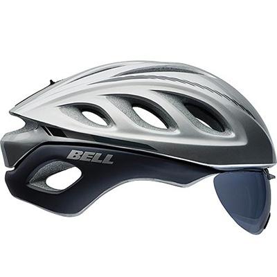 ベル(BELL) ヘルメット STAR PRO SHIELD / スタープロ シールド ROAD RACE シルバーマーカー 【自転車 サイクル レース 安全 二輪】の画像