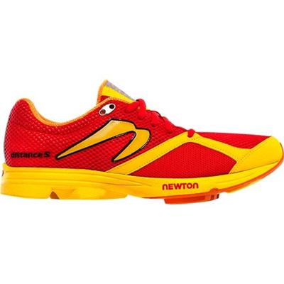 ニュートン(NEWTON) メンズ ランニングシューズ ディスタンス エス(Distance S) M000713 Red/Yellow 【トライアスロン レースシューズ トレーニング ランニング】の画像
