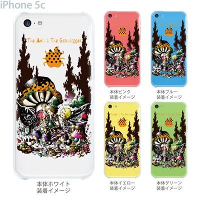 【iPhone5c】【iPhone5cケース】【iPhone5cカバー】【スマホケース】【クリア カバー】【クリアケース】【イラスト】【アート】【Little World】【イソップ物語】 25-ip5c-am0023の画像