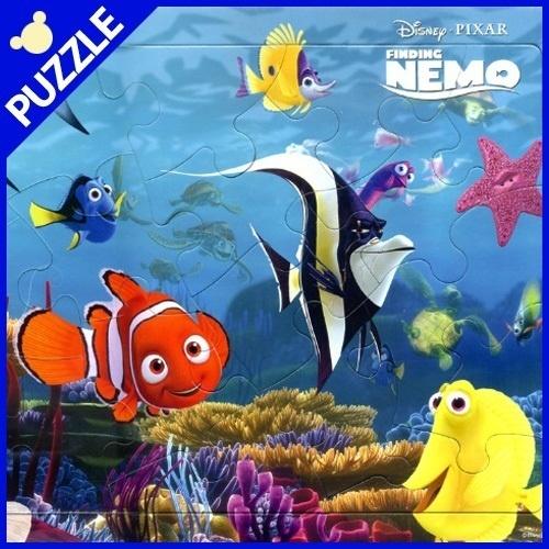 【クリックで詳細表示】[Walt Disney][10% DC] D20-01 Disney Board Puzzle パズル Finding Nemo 20 pcs 26x37cm