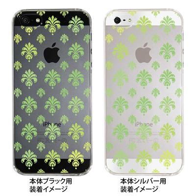 【iPhone5S】【iPhone5】【Clear Fashion】【iPhone5ケース】【カバー】【スマホケース】【クリアケース】【葉】 22-ip5-ca0038の画像