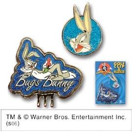 LOONEY TUNES(ルーニーテューンズ)クリップ&マーカー Bugs Bunny(LCM008) 【ゴルフアクセサリー】の画像