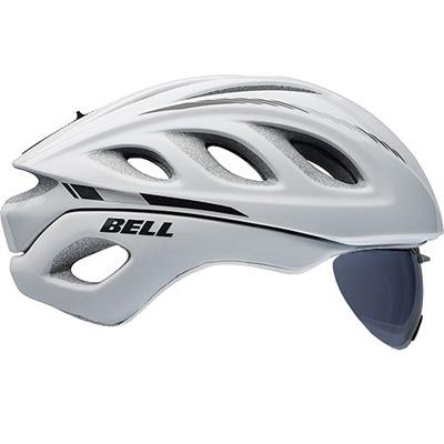 ベル(BELL) ヘルメット STAR PRO SHIELD / スタープロ シールド ROAD RACE ホワイトマーカー 【自転車 サイクル レース 安全 二輪】の画像