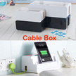 Cable Box/ Management Power Strip/Storage box/ Safe Box / Sort Out Messy  Wires