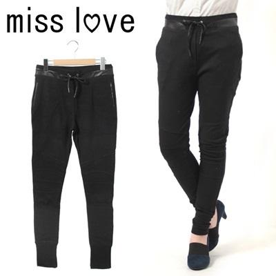 MISS LOVE ミス ラブ スウェット パンツ ボトムス ストリート アメカジ レディースの画像