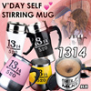★Best Mother Gift! ★1314 FOREVER TOGETHER  ★SELF STIRRING ★NON-SPILL ★MUGS ★AUTO STIRRING  ★COFFEE