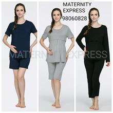 ♥SALE♥MATERNITY EXPRESS♥maternity dress confinement  nursing  pyjamas pajamas sleeping wear