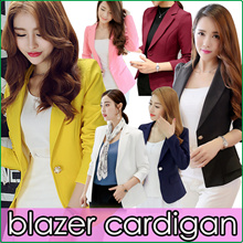 2019 Spring Office Lady Blazer Jacket/Air-Conditioner Cardigan/Women Korea Suit Vogue Jackets