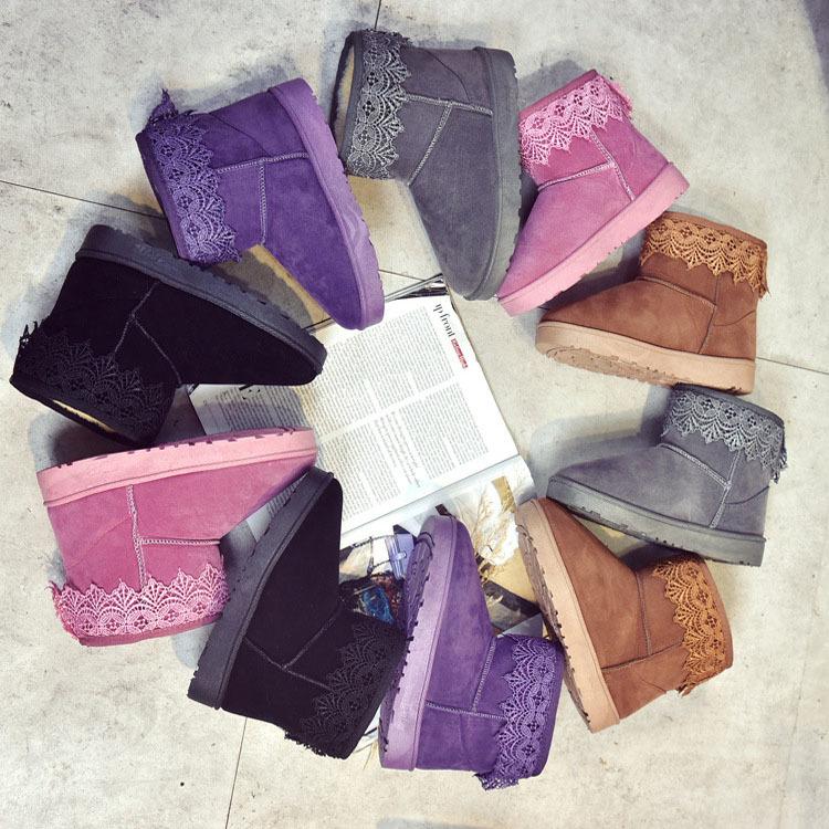 送料無料 2016秋冬新品 ブーツ靴 ム-トンブーツ 秋冬 スエードブーツ ショートブーツ  ハーフブーツ ブーツカット ロングブーツ レディース