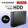 ★数量限定★I-O DATA HDC-LA4.0 [ブラック] HDD 外付けハードディスク 4TB USB3.0/テレビ録画/パソコン/家電対応 日本製
