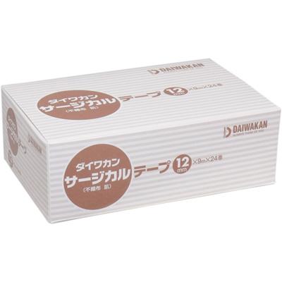 サージカルテープ不織布タイプ肌色12mm×9m×24巻