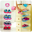 Kids shoe rack★  Shoe organiser★  Children Shoe storage ★ Display Animals design ★