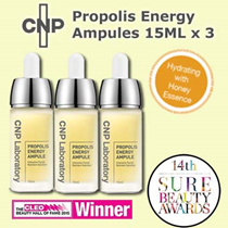 AWARD WINNING CNP PROPOLIS ENERGY AMPULE BUNDLE SET PROMOTION (3 x 15ML)