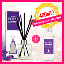 1+1 Aroma Diffuser/BOGO 1 Diffuser + 1 Refill/Repellent/Korea Best Aromatherapy Reed Diffuser