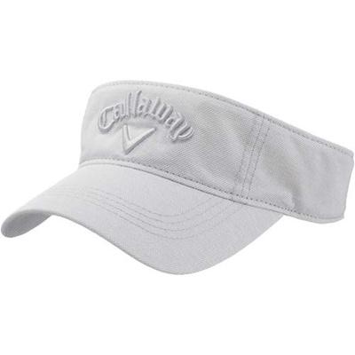 キャロウェイ(Callaway) レディース スタイル バイザー 15 JM WHT 【ウィメンズ ゴルフ 帽子 15】の画像