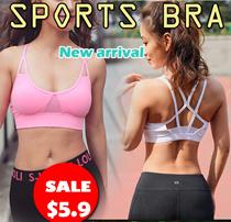 【Free Shipping For 3Pcs】SPORTS BRA Gym Running Bra Premium Ladies Wireless bra/yoga bra/sleeping