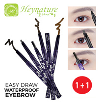 1+1 SUPERSALE SPECIAL![★HeynatuAre Official e-Store★] ❤ Easy Draw Waterproof Eyebrow Pencil (0.25g)❤