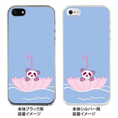 【iPhone5S】【iPhone5】【Clear Arts】【iPhone5ケース】【カバー】【スマホケース】【クリアケース】【アニマル】【パンダ】 22-ip5-ca0052の画像