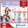 【JOHNSONS pH5.5】Nourishing Body Wash/ 2-in-1 x 3bottles (1000ml+1000ml+1000ml)