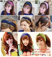 New Korean Fashion Style Yoga Headband Sport Headband Fashion Headband Sweatband Unisex Various Colour Selection