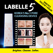 [LAST DAY] NEW! HOT ITEM! 5000PCS SOLD IN 1 HOUR! ❤ Labelle 5 ❤ SG Official Distributor › 5th Gen › Award Winning ULTRASONIC SKIN SCRUBBER➤Sonic Peel [Pore Cleanser|Blackheads| Made in Korea ]