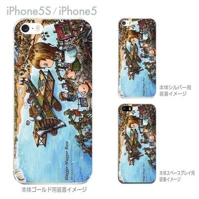 【SWEET ROCK TOWN】【iPhone5S】【iPhone5】【iPhone5sケース】【iPhone5ケース】【カバー】【スマホケース】【クリアケース】【アート】 46-ip5s-sh0010の画像