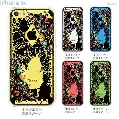 【iPhone5c】【iPhone5cケース】【iPhone5cカバー】【iPhone ケース】【スマホケース】【クリアケース】【クリア】【イラスト】【アート】【Little World】【不思議の国のアリス】【マッド・ハッター】 25-ip5c-amc002の画像