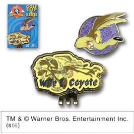 LOONEY TUNES(ルーニーテューンズ)クリップ&マーカー Wile E.Coyote(LCM039) 【ゴルフアクセサリー】の画像