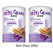 Special Promotion~ NH Nutri Grains with Purple Sweet Potato 紫穀糧 - 紫薯穀糧健康飲- 1kg x 2tin= 2kg