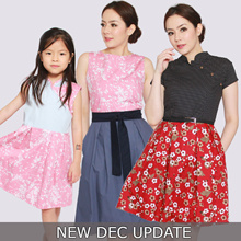 EXTRA 30% OFF MIN SPEND- DEC UPDATE MATCHING MOTHER AND KIDS SETS DRESSES BEST CLOTHING FOR CNY
