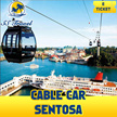 [Dec holiday SPecial**]Cable Car sentosa E-ticket/Ticket inclusive of both sentosa line and faber peak line/圣淘沙缆车