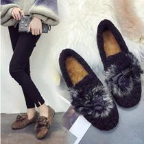 冬新作入荷!レディース スニーカー シューズ 可愛い シューズ 靴/歩きやすい もこもこファー キャンバス ローヒール パンプス 大人カジュアル 美脚