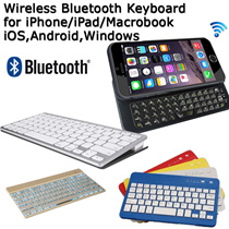 Ultra slim Wireless Keyboard with Blacklight Bluetooth Wireless Keyboard for Apple iMac / iPad / iPhone / Samsung Phones / iOS and Android System/Windows PC