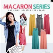 MACARON SERIES MAXIS ★ TIG ★ 27 COLORS PLUS SIZE ★ OBDESIGN ★ I.MODA  ★ THE INCOGNITA GIRL