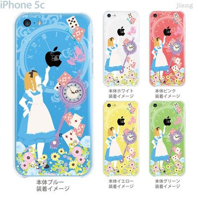 【iPhone5c】【iPhone5c ケース】【iPhone5c カバー】【iPhone ケース】【クリア カバー】【スマホケース】【クリアケース】【イラスト】【クリアーアーツ】【Clear Arts】【不思議の国のアリス】 09-ip5c-fp0001の画像