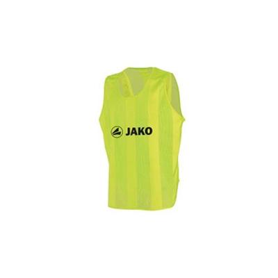 ヤコ(JAKO) ビブス ジュニアサイズ(150cmフリー) 2612 01 ネオンイエロー 【サッカー フットサル】の画像