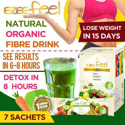[7 Sachets] 1st SG brand•fiber detox in 8hr-weight lost-natural slimming fiber drink- EZEE Feel- Deals for only S$5 instead of S$0