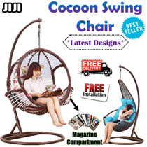 ◣CHAIR SERIES◥ ★SWINGING CHAIRS ★Swinging Rack ★Sturdy Frame ★Stylish Design ★Balcony ★Living Room ★Fast Delivery