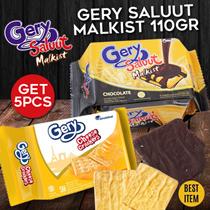 [Get 5] GARUDAFOOD BISKUIT GERY SALUUT MALKIST 110 GR