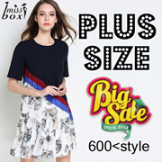 【26/4 NEW】600+ style S-7XL NEW PLUS SIZE FASHION LADY DRESS OL work dress blouse TOP