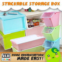 ★STACKABLE STORAGE BOX ★DRAWER ★CONTAINER ★ORGANIZER ★POLYPROPLYENE ★FAST DELIVERY