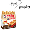 ☆ NUTELLA B-READY ☆ | Ferrero | Nutella | Hazelnut | Baguette | Italy