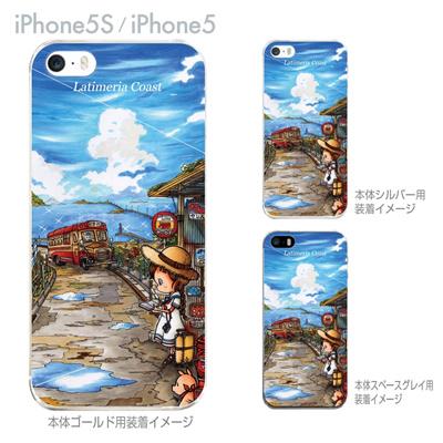 【SWEET ROCK TOWN】【iPhone5S】【iPhone5】【iPhone5sケース】【iPhone5ケース】【カバー】【スマホケース】【クリアケース】【アート】 46-ip5s-sh0011の画像